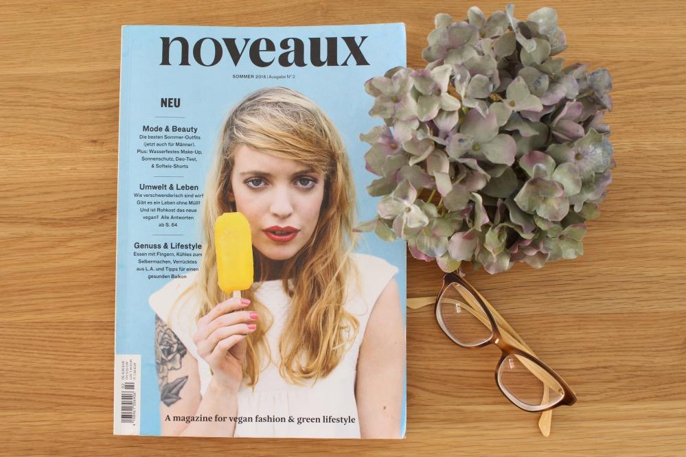 Noteaux ein neues, veganes Magazin