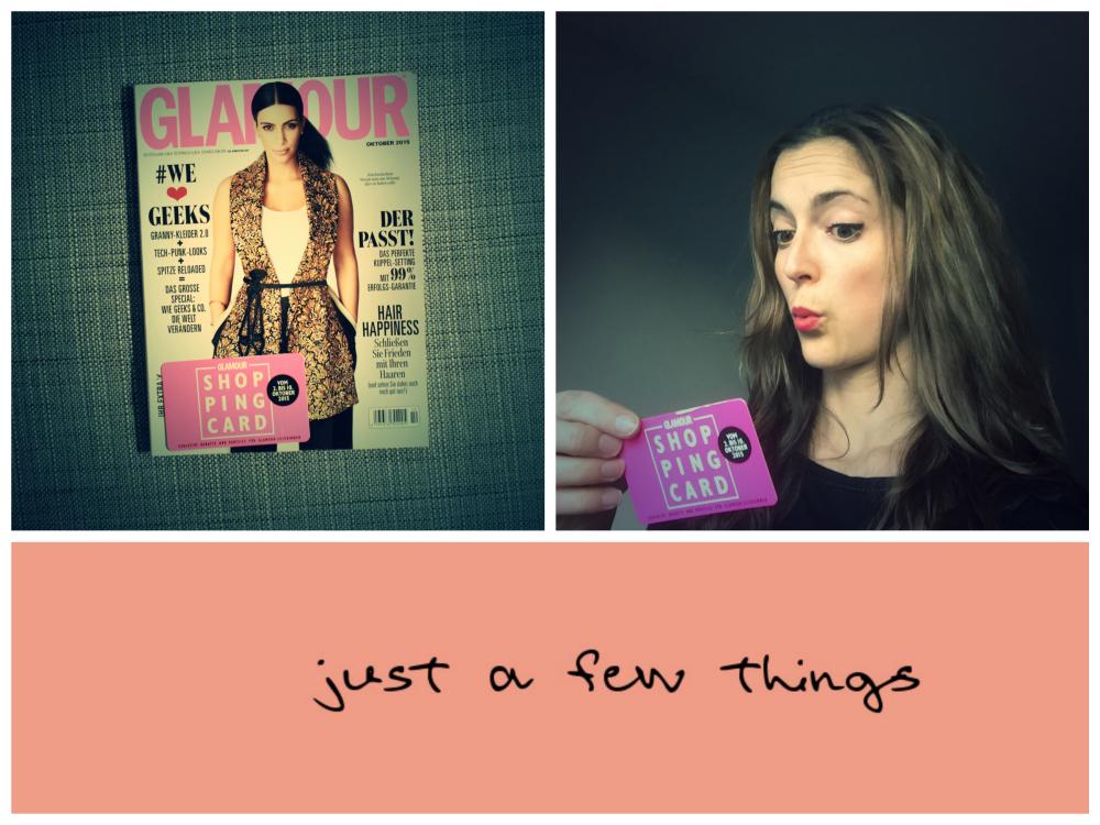 Neele Hofmman Blog shopping card just a few things