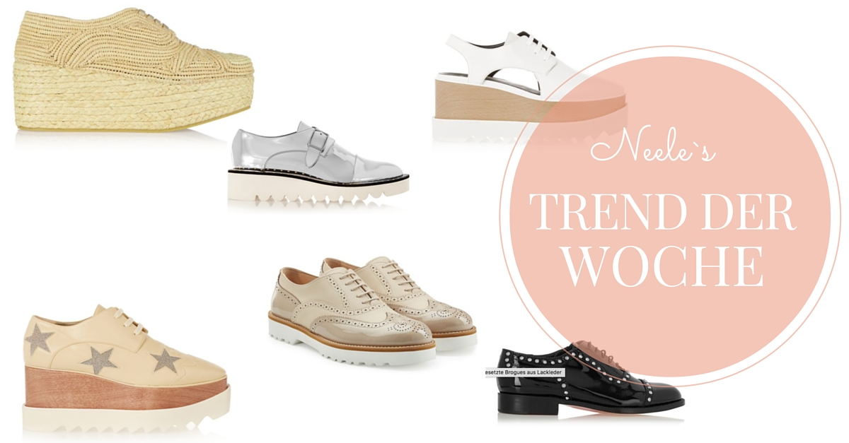Brogues Trend Schuhe how to wear Shoes Fashion Mode Blog