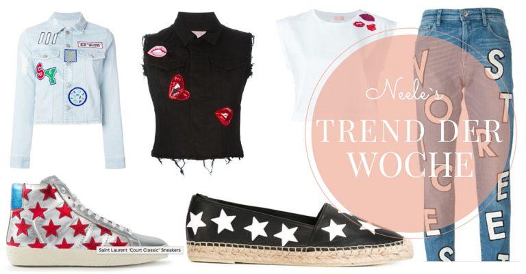 Patches Trend Fashion Mode Blog Neele Aufnäher Freiburg