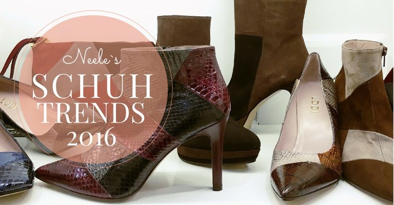 Die neuesten Schuhtrends von der gds Herbst/Winter Trends Schuhe Fashion