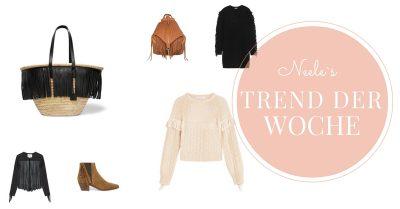Trend der Woche Fransen Fashion Shopping Mode Blog Neele Freiburg