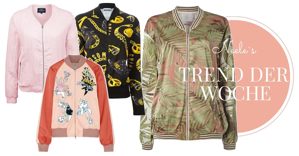 Modetrends 2016 Bomberjacke im Überblick