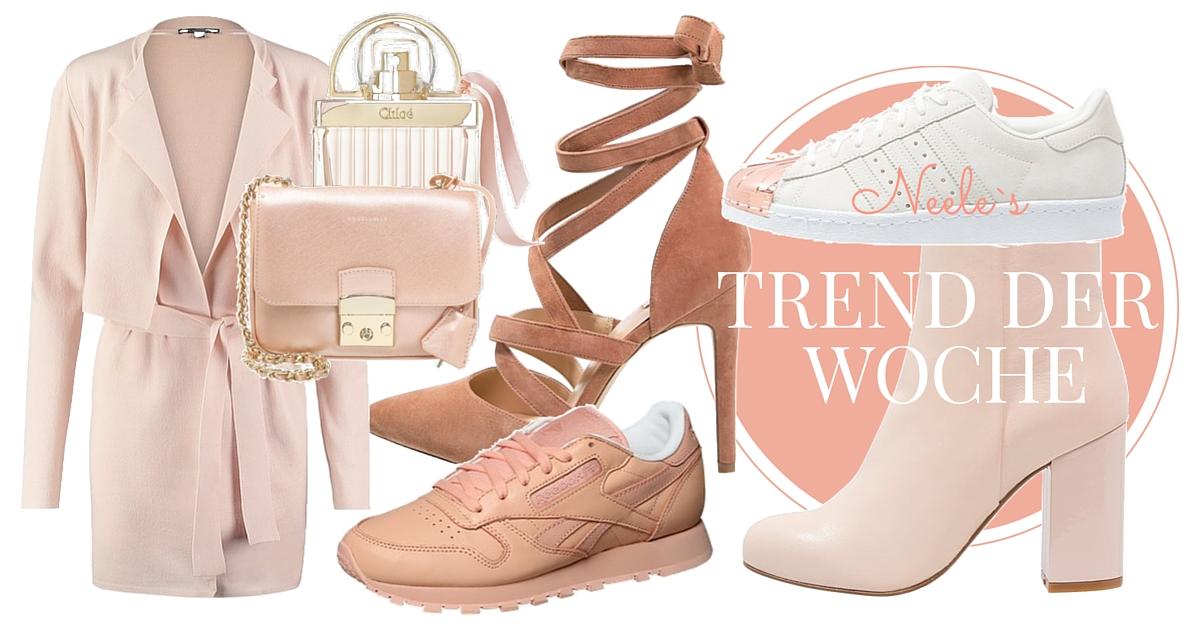 Pastell Rose Farben ist Modetrend 2016. Fashion und Lifestyle Blog aus Freiburg