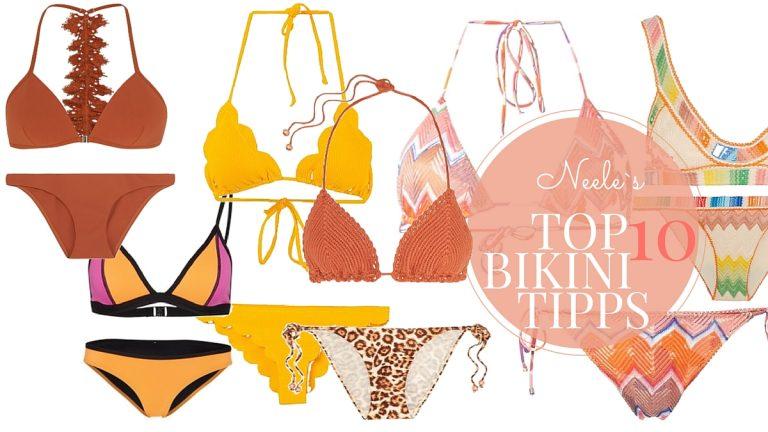Die besten Tipps für den Bikini Kauf. Top 10 Tipps. Wer kann was tragen