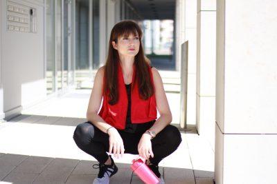 Sportoutfit von Puma Fitnesslook