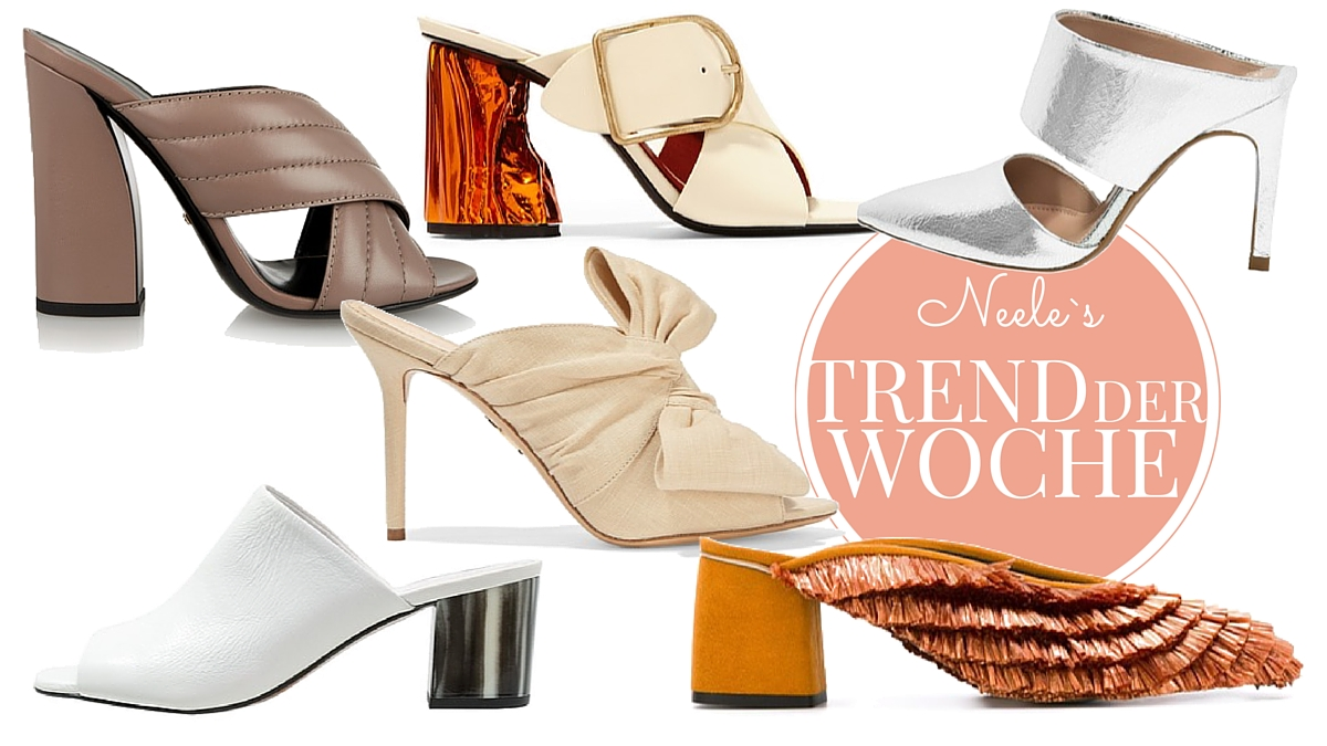 DER Schuhtrend 2016: Mules hier die schönsten Modelle aus den Online Shops