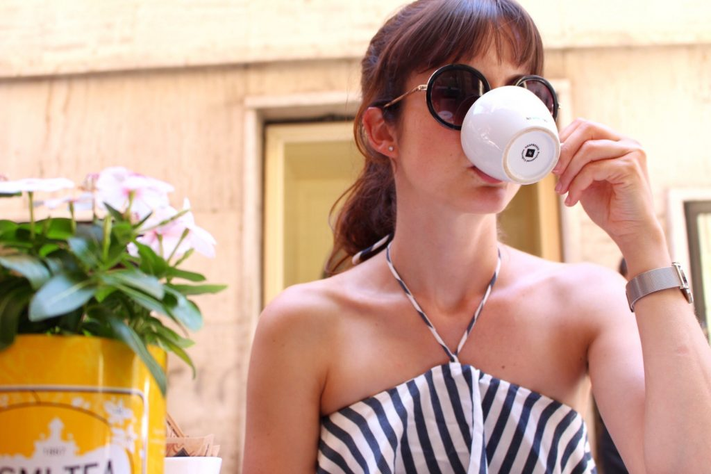 In Cagliari gibt es viele Café und Restaurants wie überall in Sardinien