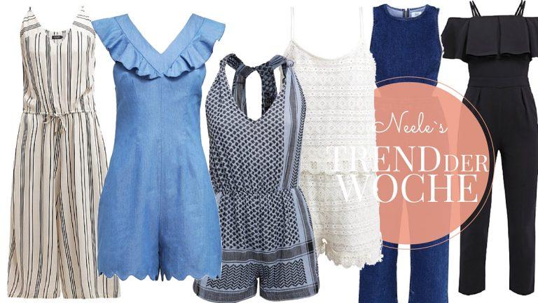 Jumpsuits sind ein großer Modetrend 2016 und für meinen Modeblog kombiniere ich sie gerne für verschiedene Outfitposts