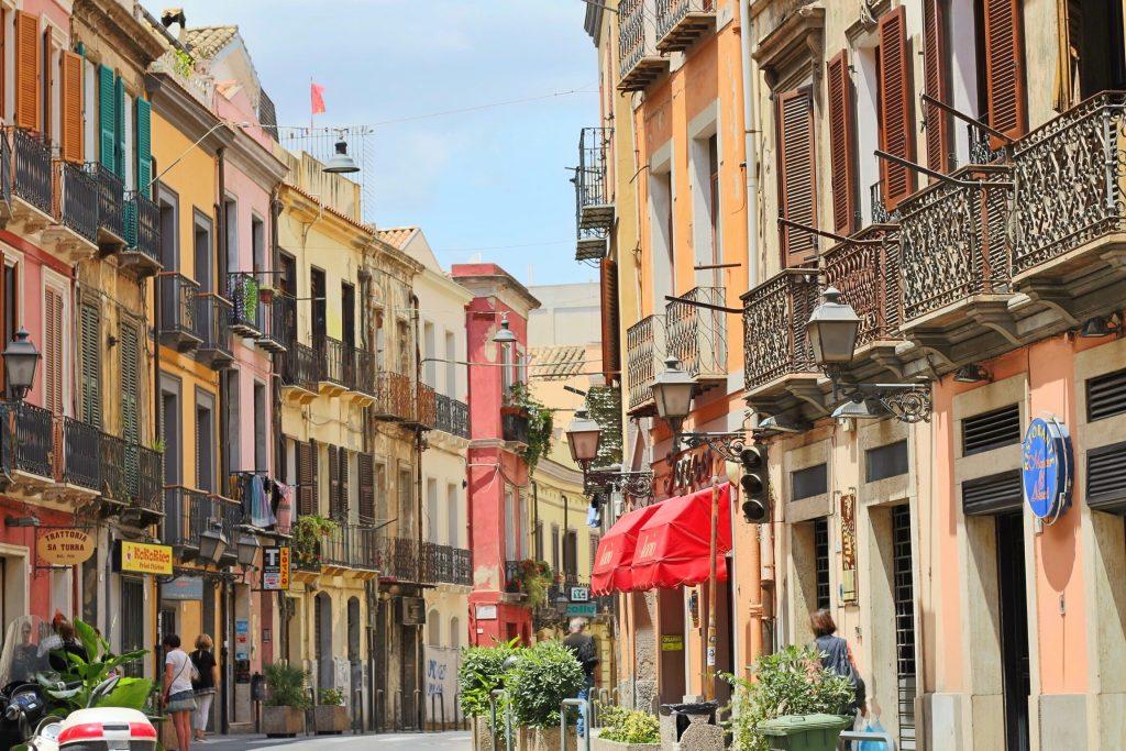 Cagliari die Hauptstadt Sardiniens