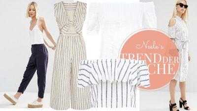 Leinen ist ein sehr angenehmer Stoff für Hochsommertage die schönsten Leinenteile auf meinem Modeblog