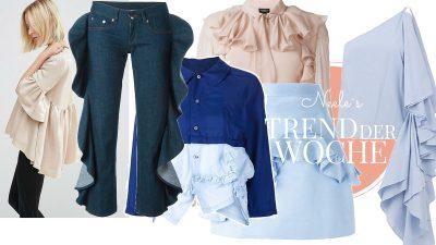 Volants ein große Mode-und Sommertrend 2016 auf meinem Modeblog zeige ich die schönsten Teile aus den Online Shops mit Volants