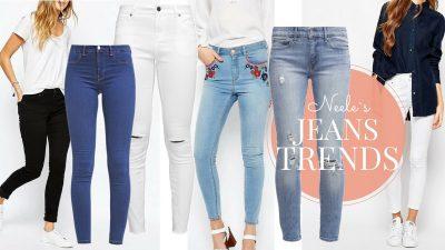 Die größten Jeanstrends heute mit der Skinny Jeans How to wear Tipps und die besten Modelle aus den Online Shops