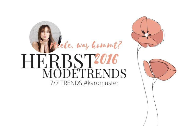 Karomuster ist der Modetrend Herbst Winter 2016 alles zum Modetrend aus meinem Modeblog