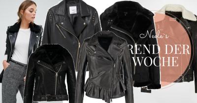 Der Modetrend Lederjacken heute auf meinem Modeblog