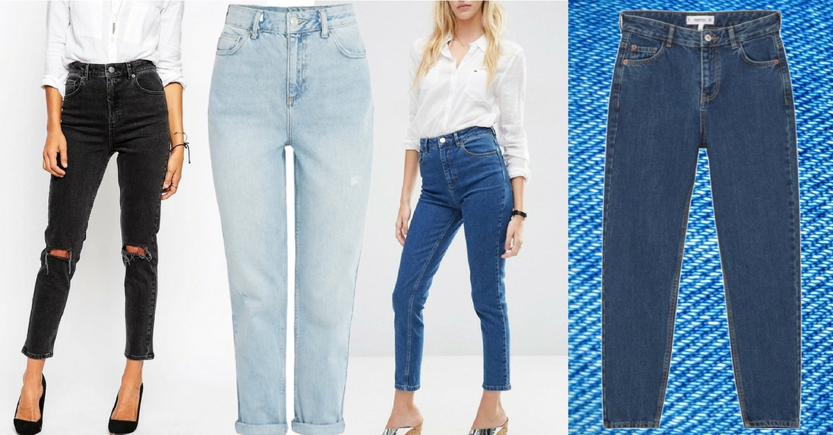 Die Mom Jeans ist einer der Modetrends 2016 wie ihr sie kombiniert heute auf meinem Modeblog