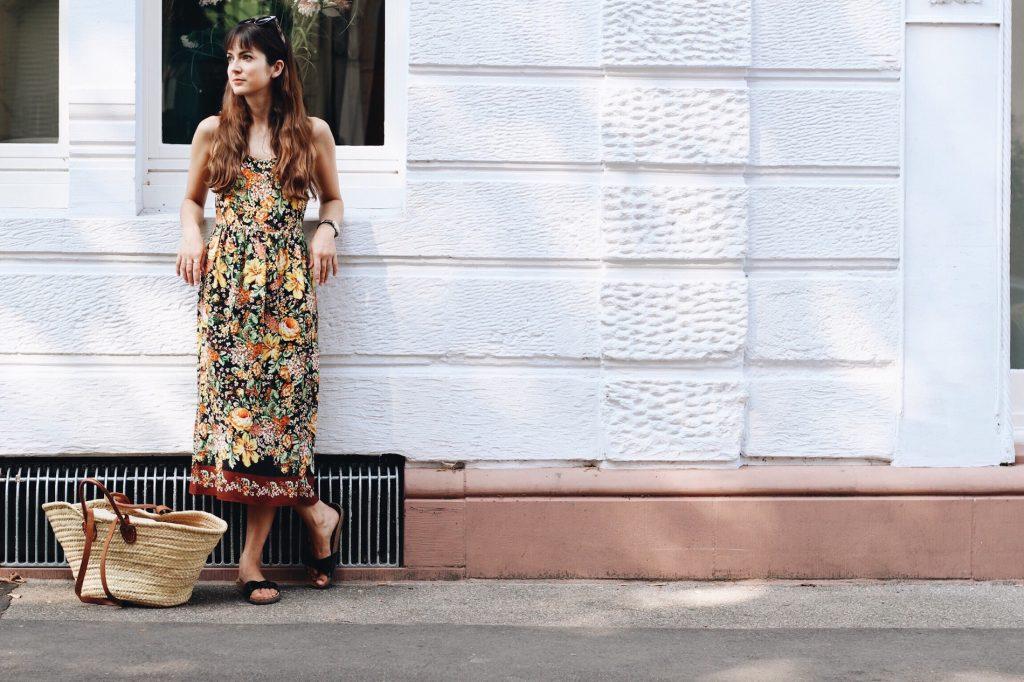 Modeblog Outfit Sommerkleid Fashionblog