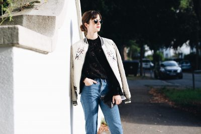 Meine neue Bomberjacke von Vero Moda heute auf meinem Modeblog