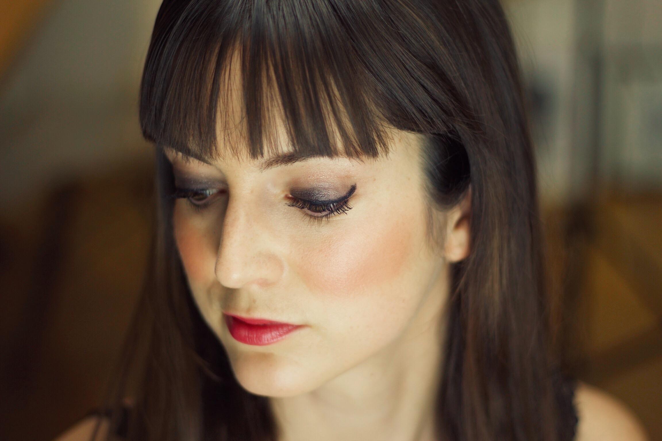 Smokey Eyes mit Lidschatten von Yves Rocher auf meinem Modeblog
