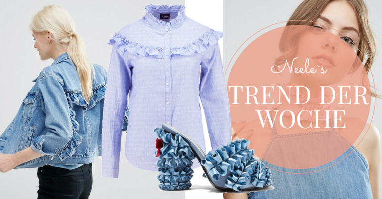 Rüschen sind einer der Modetrends Herbst Winter 2016 die schönsten Teile auf meinem Modeblog