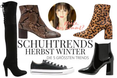 Die größten Schuhtrends Herbst Winter auf meinem Modeblog