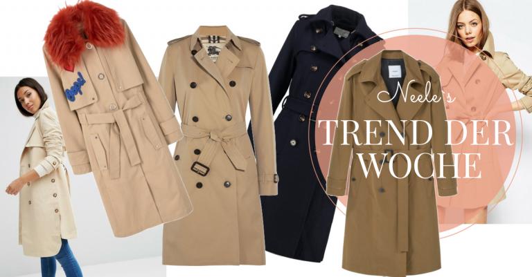 Der Trenchcoat ist Modetrend und Klassiker alles zur Geschichte heute auf meinem Modeblog
