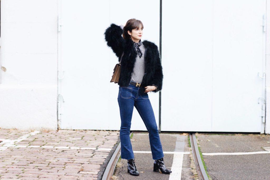 Modeblog Outfit: Meine neue Felljacke von Pello Bello