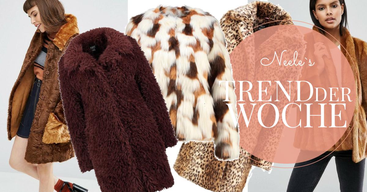 Pelzjacken und Fellmäntel sind eine Modetrend Winter 2016 alle Pelzmäntel auf meinem Modeblog