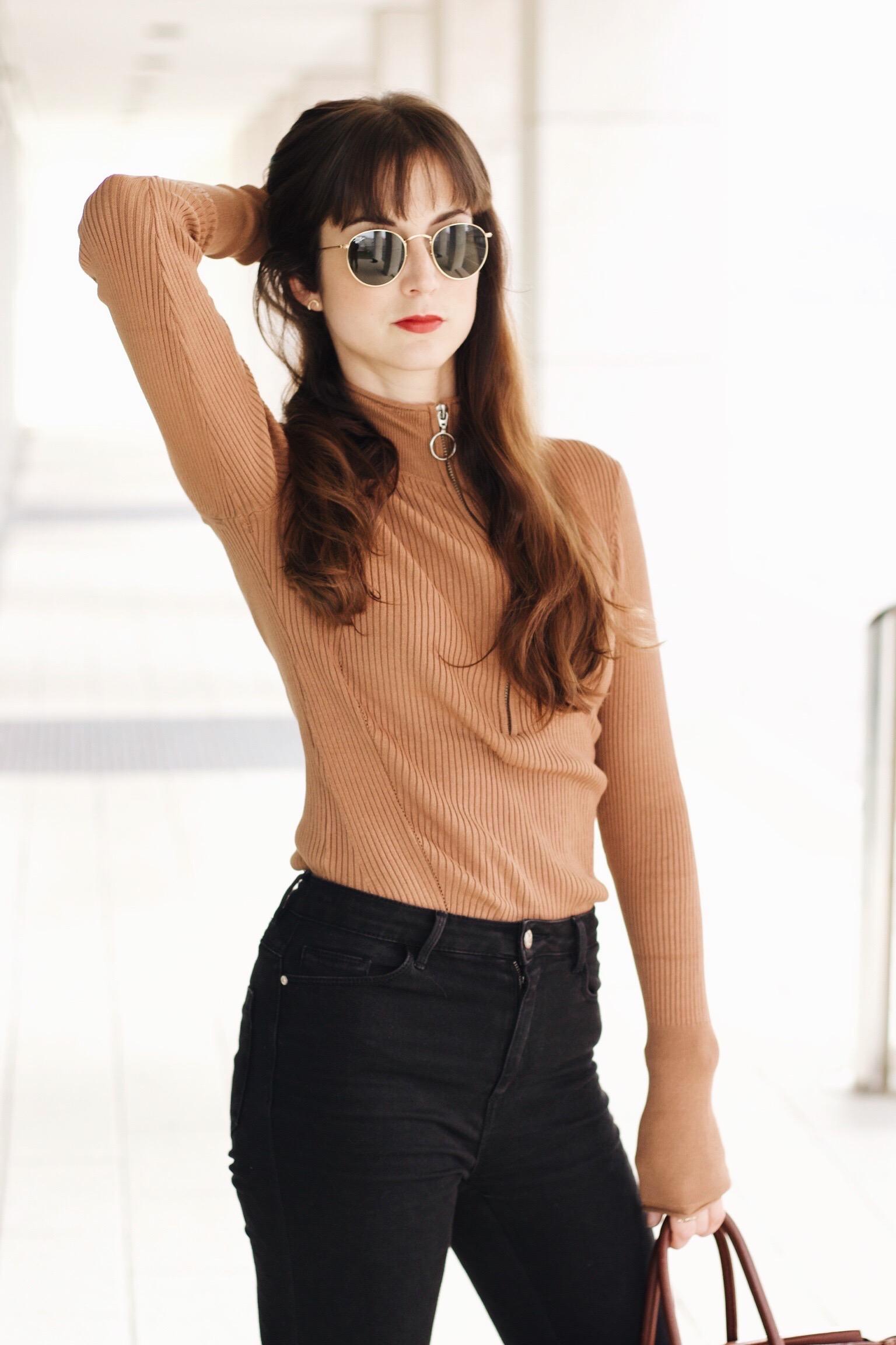 Leo Pumps Netzstrumpfhose und Birkin Bag im Outfitpost auf meinem Modeblog