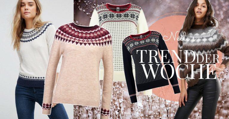 Norweger Pullover die schönsten Modelle für Damen auf dem Modeblog.