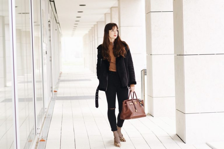Meine Birkin Bag heute auf meinem Modeblog