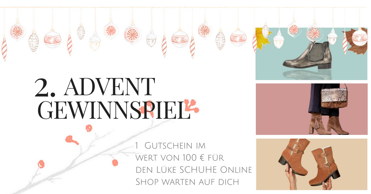 2 advent gewinnspiel just a few things der modeblog aus freiburg fashion beauty. Black Bedroom Furniture Sets. Home Design Ideas
