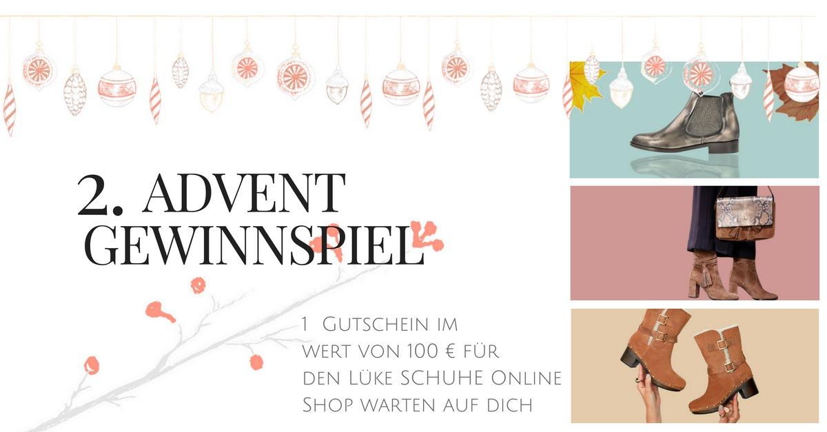 Modeblog Gewinnspiel Modebloggerin Neele verlost Gutschein für den Lüke Schuhe Online Shop