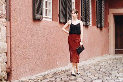 Mein Partylook für Weihnachten heute auf meinem Modeblog