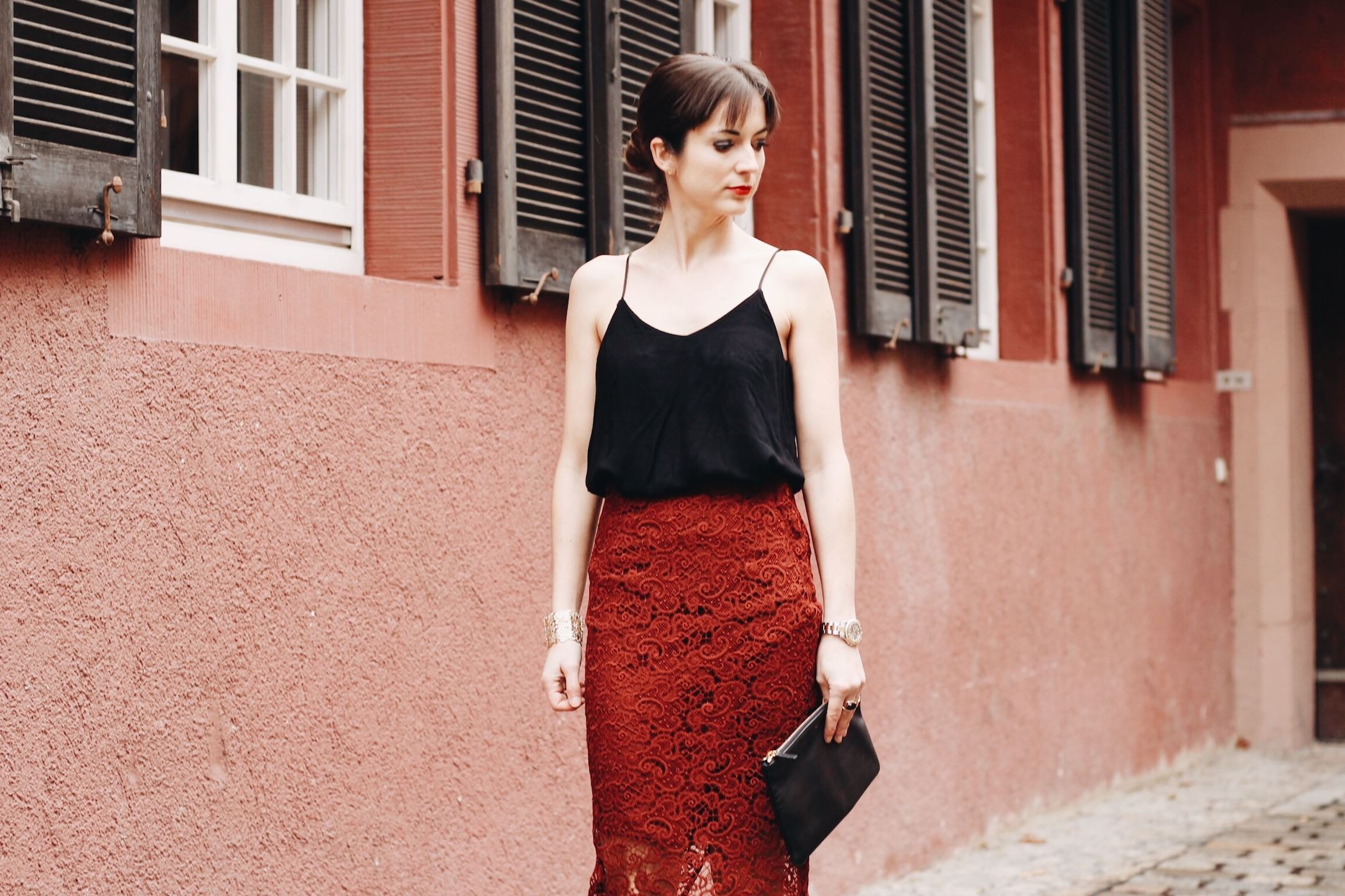 Weihnachtsoutfit und Partylook heute auf meinem Modeblog