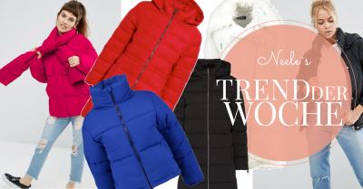 Daunenjacken einer der Modetrends Herbst Winter 2016