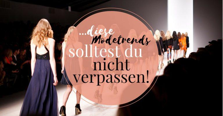 Das sind die Modetrends 2017 für den fruehling und Sommer 2017. Die Modebloggerin Neele zeigt auf ihrem Fashionblog alles Trends