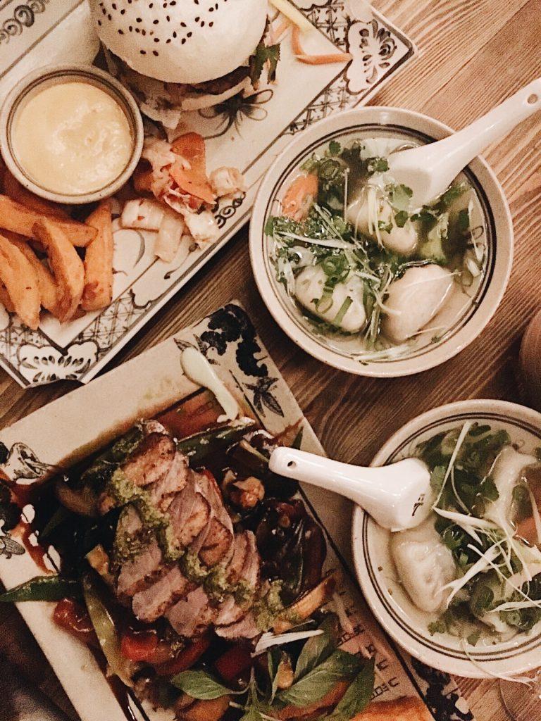 Meine erste Erfahrung mit Asian Fusion Küche