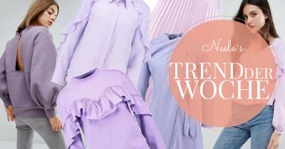 Modetrend lila violett flieder und purple auf meinem Lifetyleblog