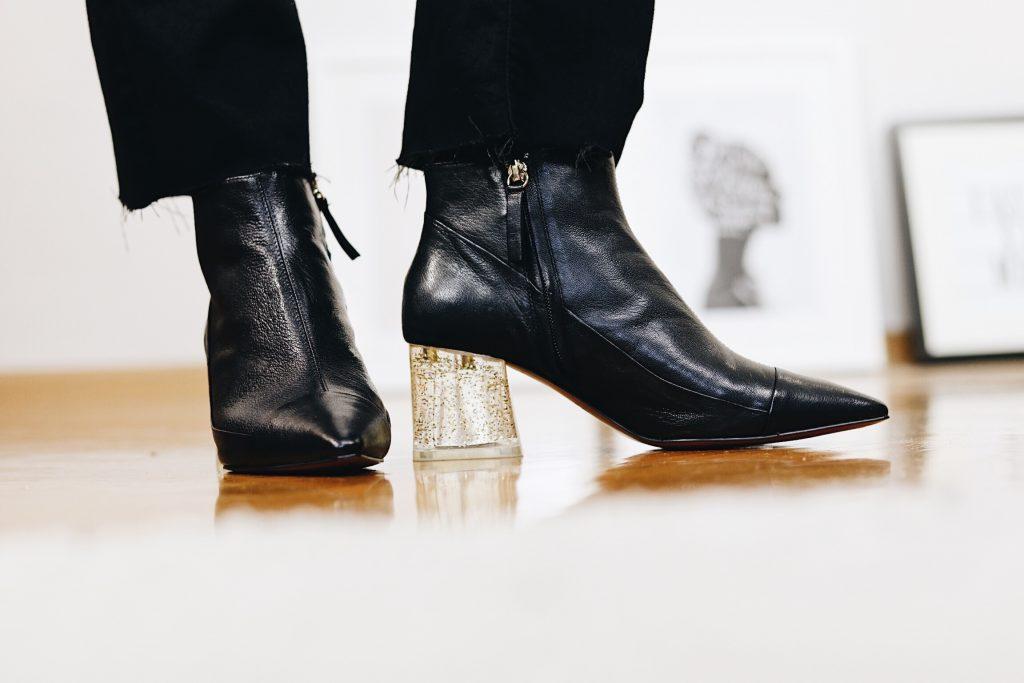 Kick Flare Jeans kombinieren auf meinem Fashionblog