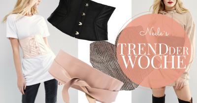 Der Modetrend Korsett heute auf meinem Modeblog