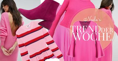 Der Modetrend Frühling Sommer 2017 Pink und Rosa