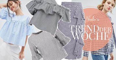 Vichy Karo ist eine der Modetrends Frühjahr Sommer 2017 die schönsten Vichy Muster Teile auf meinem Fashionblog
