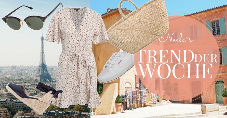 Der Stil der Französinnen im Trend der Woche French Look