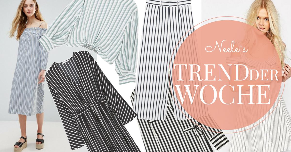 Der Sommertrend Längsstreifen auf meinem Modeblog
