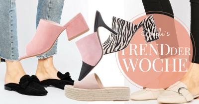 Schuhtrend Mules auf meinem Modeblog