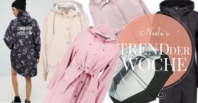 Die schönsten Regenmäntel auf meinem Fashionblog