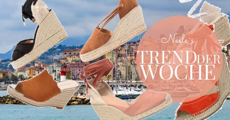 Der Schuhtrend Espadrilles im French Chic auf meinem Modeblog