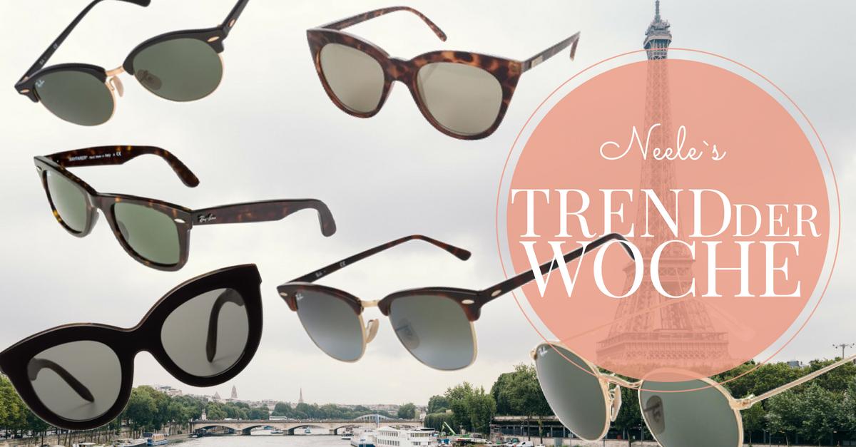Die schönsten Sonnenbrillen Klassiker auf meinem Blog