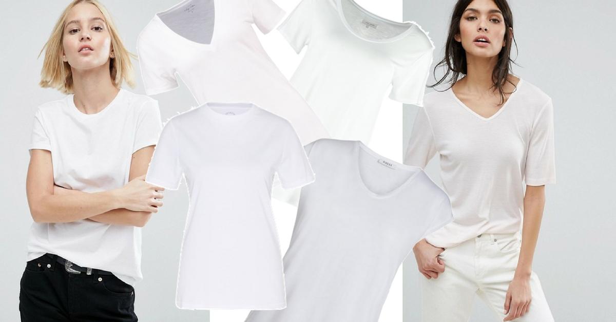 Der Klassiker T-Shirt in weiß auf meinem Blog